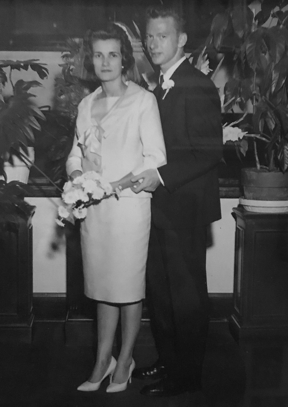 Meet my grandparents: George and Esther Cloud - Esther has been living with chronic pain and illness for decades and George has been by her side every step of the way, taking on the role of caregiver in more recent years.I began documenting their life together in October 2017 in an effort to memorialize their love through photographs. This desire to preserve their legacy for my family's current and future generations became a personal project spanning the course of several months.