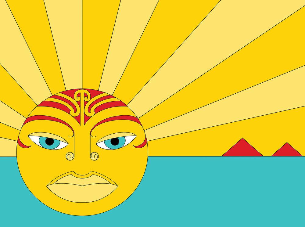 Tamanuiterā, the sun