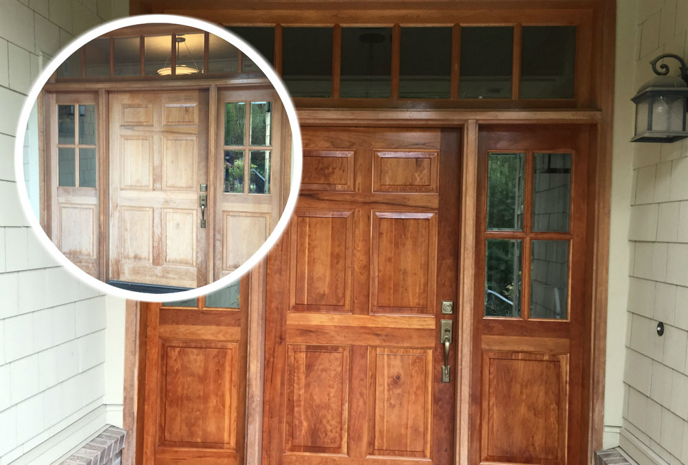 Wood Restoration Services - Why buy new when what is already there is even better?