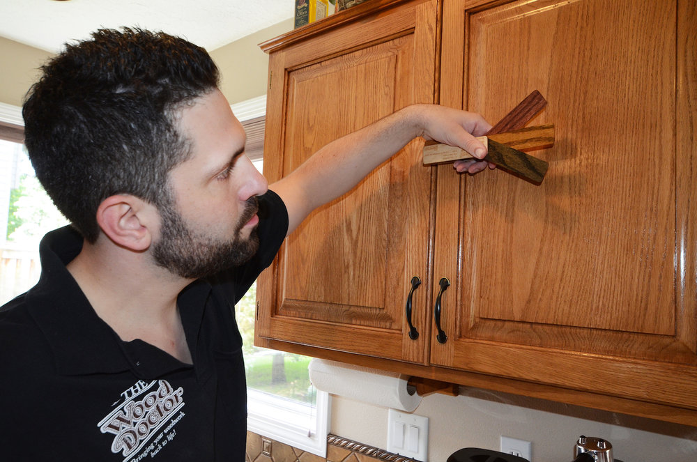 Cabinet Refinishing - We offer eco-friendly, expert craftsmanship which results in a strong, lasting finish