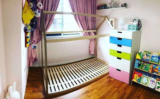 #Woodfix Little house bed for UrbanLil