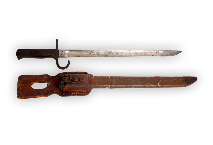 Image of Japanese bayonet.