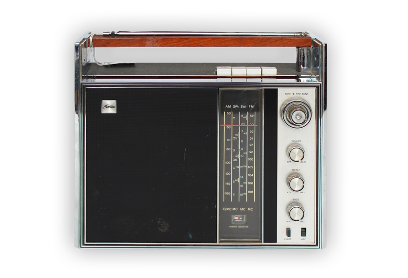 Image of transistor radio.