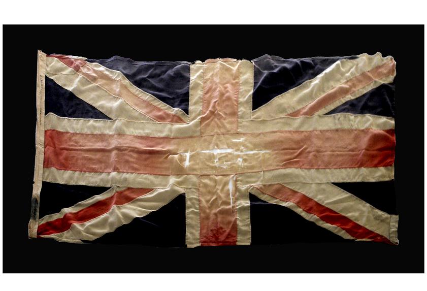 Image of a British flag.