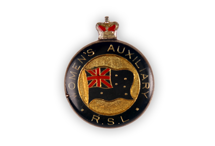 Image of Women's Auxiliary badge.