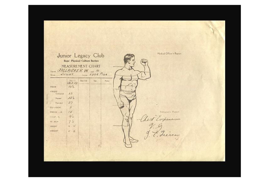 Image of medical chart.