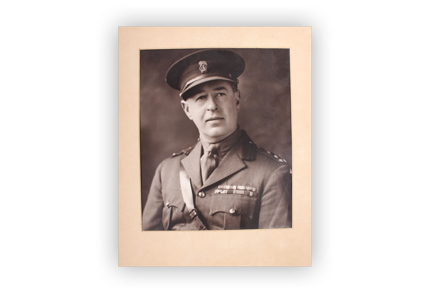 Image of Stanley Savige, founder of Legacy.