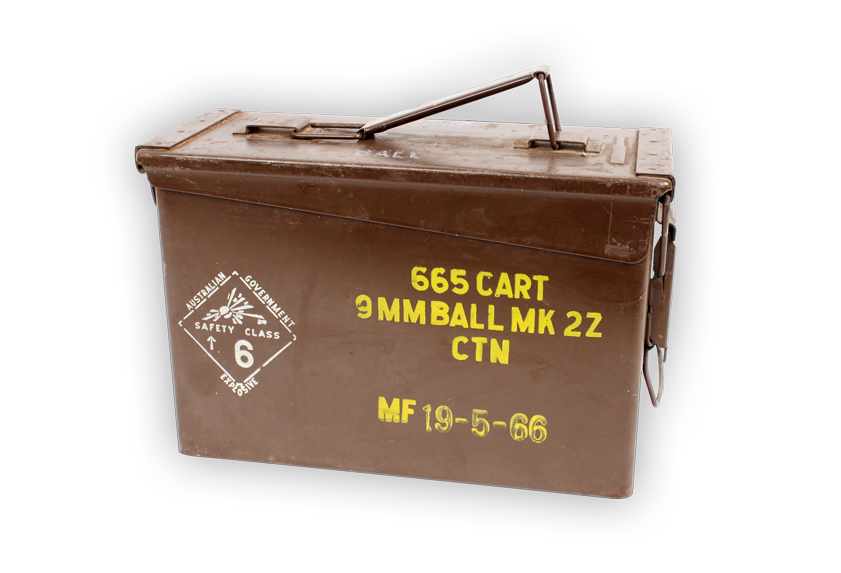 Image of ammunition box.