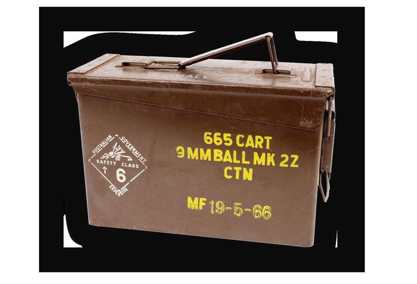 Image of an ammunition box.