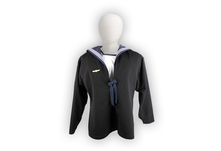 Image of Royal Australian Navy uniform.