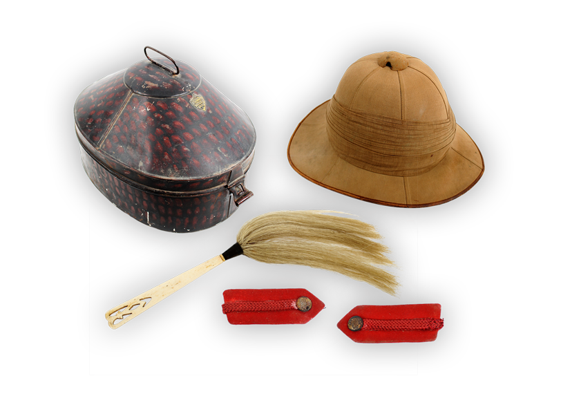Image of Pith hat.