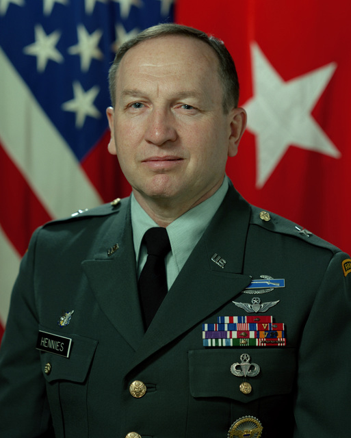 MAJ GEN Clyde A. Hennies - Feb. 1999 - June 2003   Lee