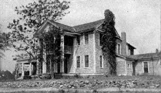 Dr. Ward's House (Sometime before 1950)