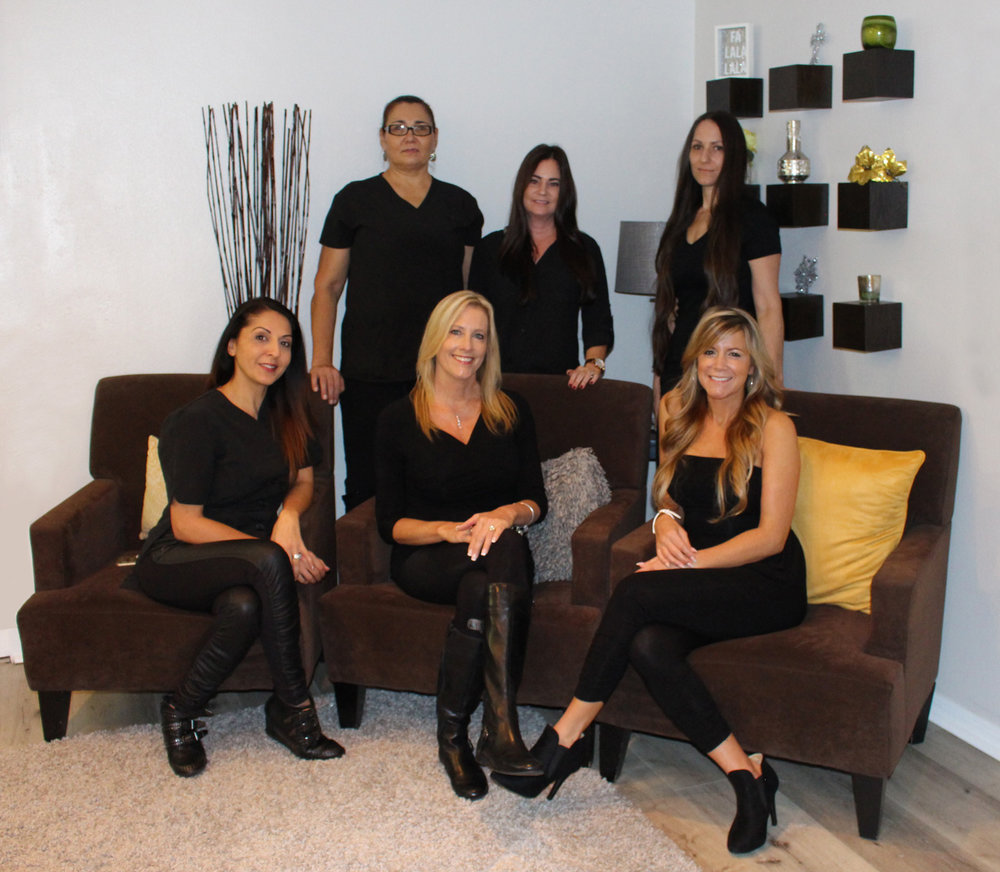 Let's Face it Together - In our spa, Team and Family mean the same thing. Our individual specialties of service harmoniously compliment one another, creating a journey on which you'll start looking and feeling your best from the first visit.