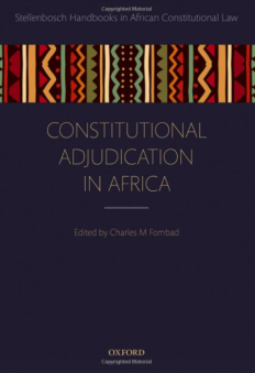 Charles M Fombad - Constitutional Adjudication in Africa