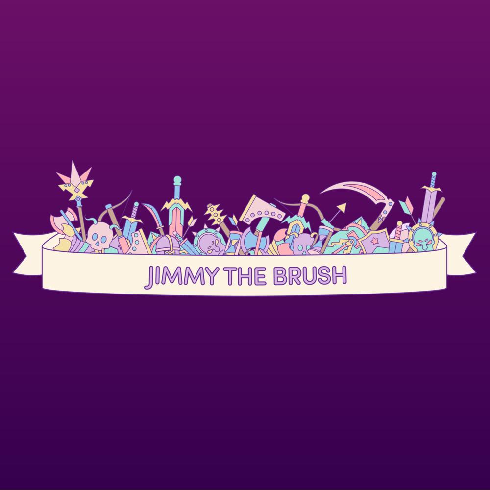 Jimmy the Brush Overlays