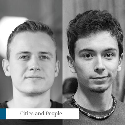 Vadim Fîntînari & ZoltanGyulai-Nagy - CreatorisParkVadim și Zoltan sunt doi programatori din Brașov care lucrează intens pentru a le aduce oamenilor tehnologii cu scopul de a le face viața mai ușoară. Proiectul lor,sPark, cel mai inteligent sistem de administrare a parcărilor, studiază comportamentul uman și ghidează utilizatorii spre cel mai apropiat loc de parcare liber. Prin munca lor, Vadim și Zoltan doresc să fluidizeze traficului, să micșoreze poluarea urbană și implicit să aducă o îmbunătățire a calității vieții cetățenilor.