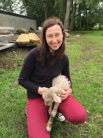 little orphaned lamb and me.jpg