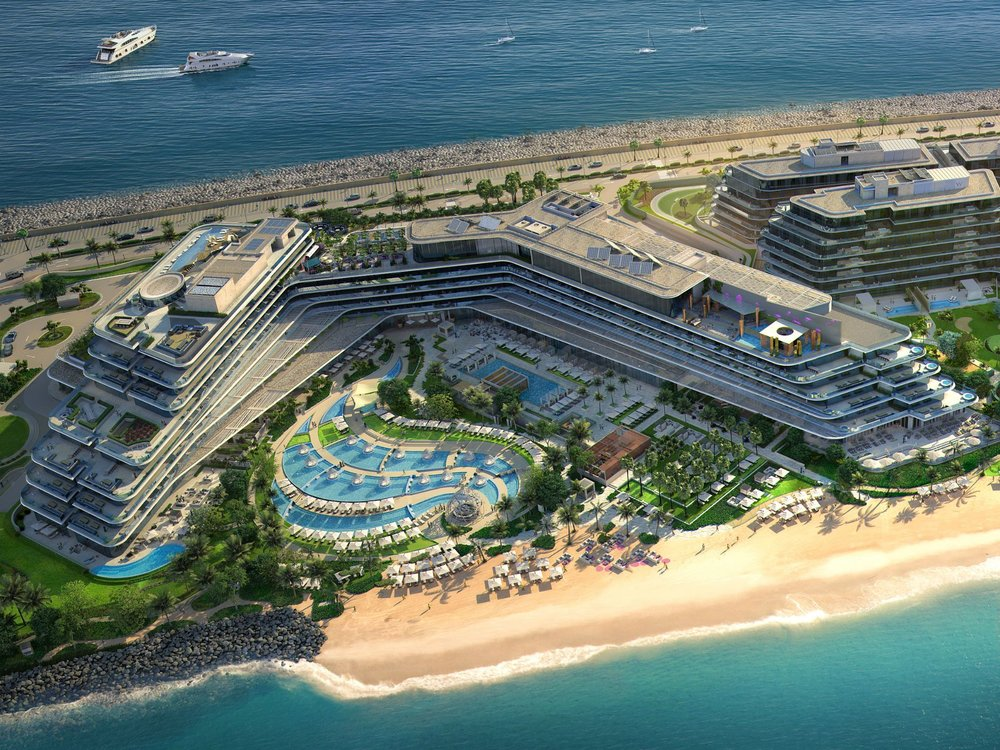 W Hotel Dubai The Palm - opening October 2018