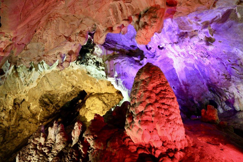 One of the amazing stalactite caves of Matka.