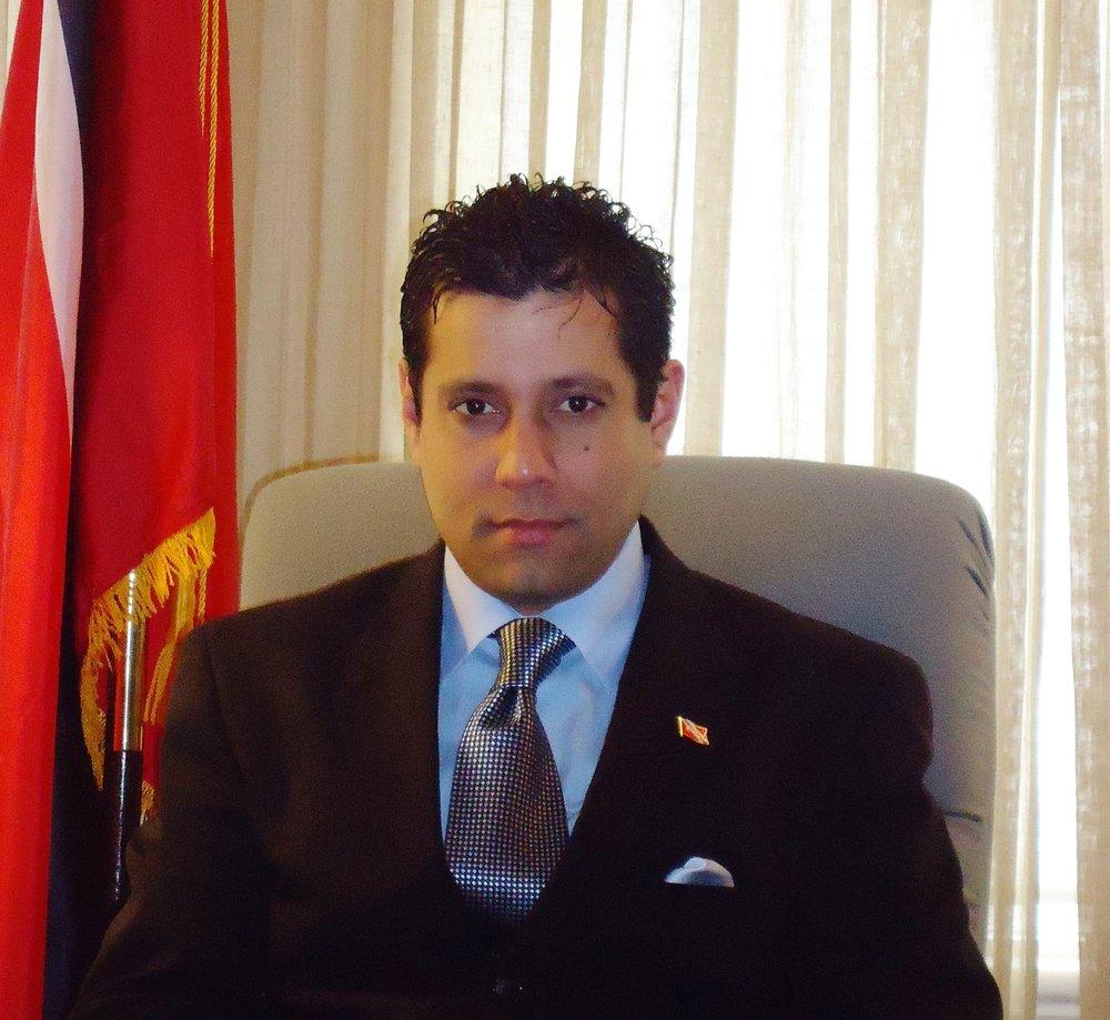 Ambassador Dr. Neil Parsan, DVM, MBA, CACM, RFC, WTP