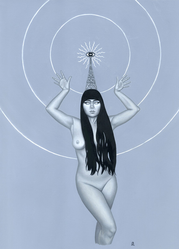 Antenna Girl #3 - ESP Tower
