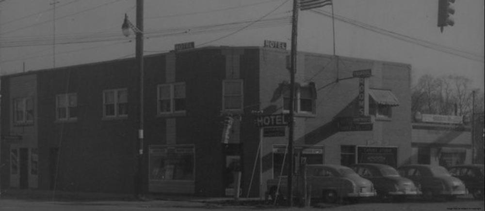 Monogram Hotel 1950s