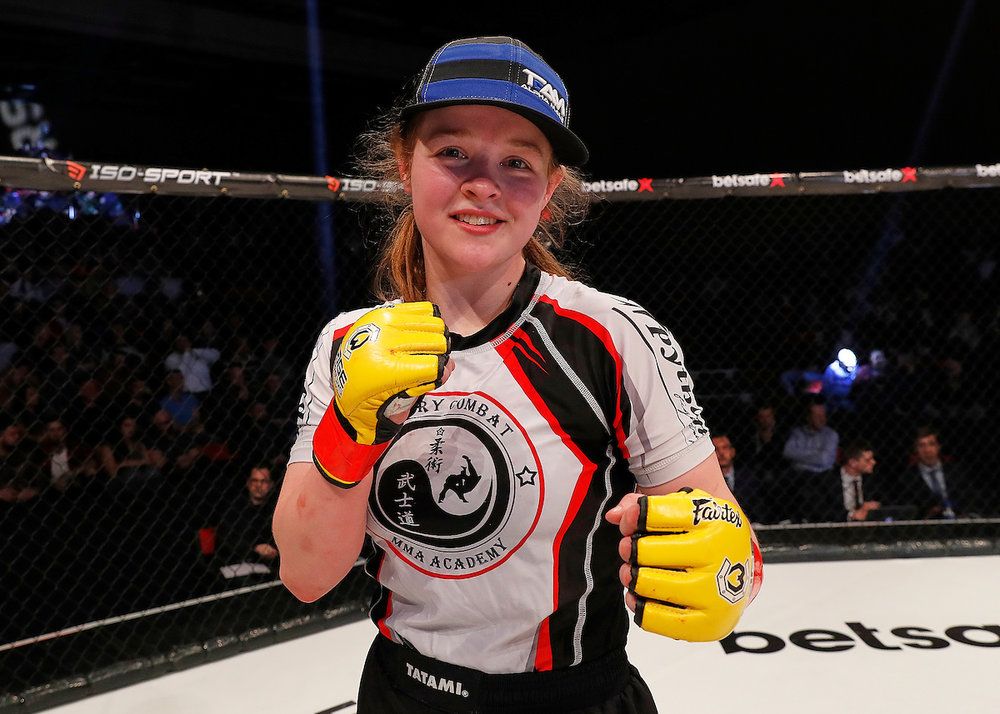 Remember the name: Cory McKenna is fast becoming one of the most talked about prospects in women's MMA