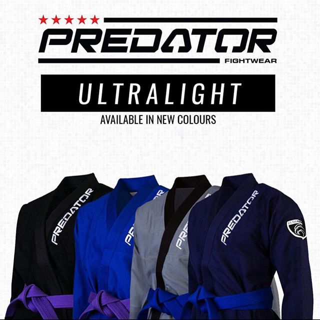 Predator Fightwear Ultralight GI 🥋Ultra strong and durable while only weighing 1kg 👊🏼 Perfect GI for the warm weather upon us ☀️ . Available on our website.