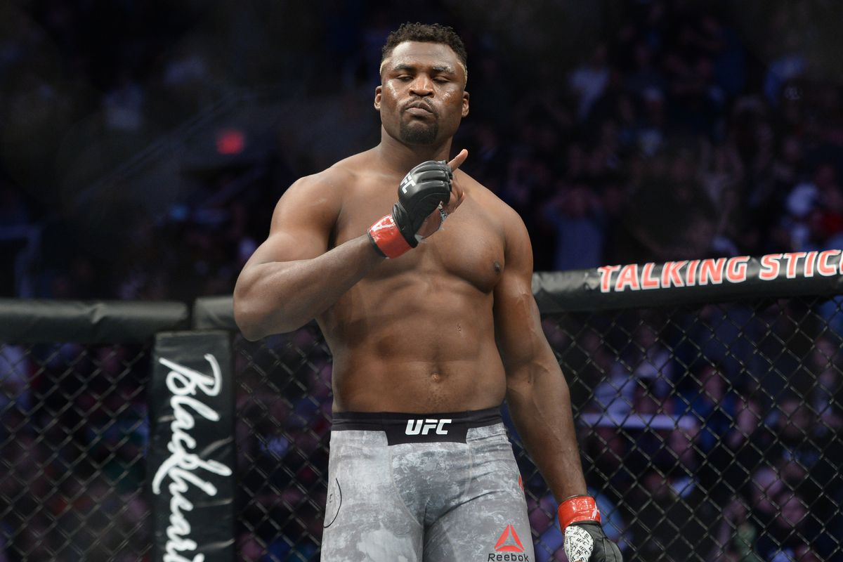 Francis Ngannou is eager to fight   News   London Fight Store
