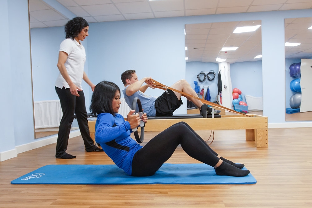 Clinical Pilates - reformer physio glasgow