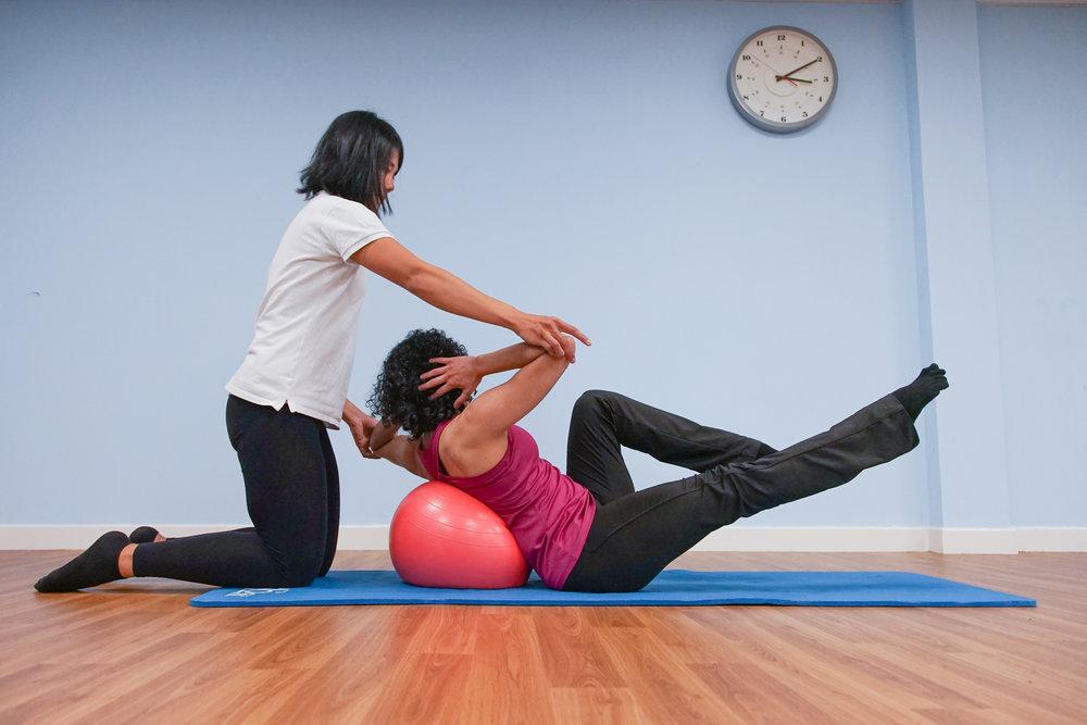 clinical pilates at physio effect glasgow port dundas