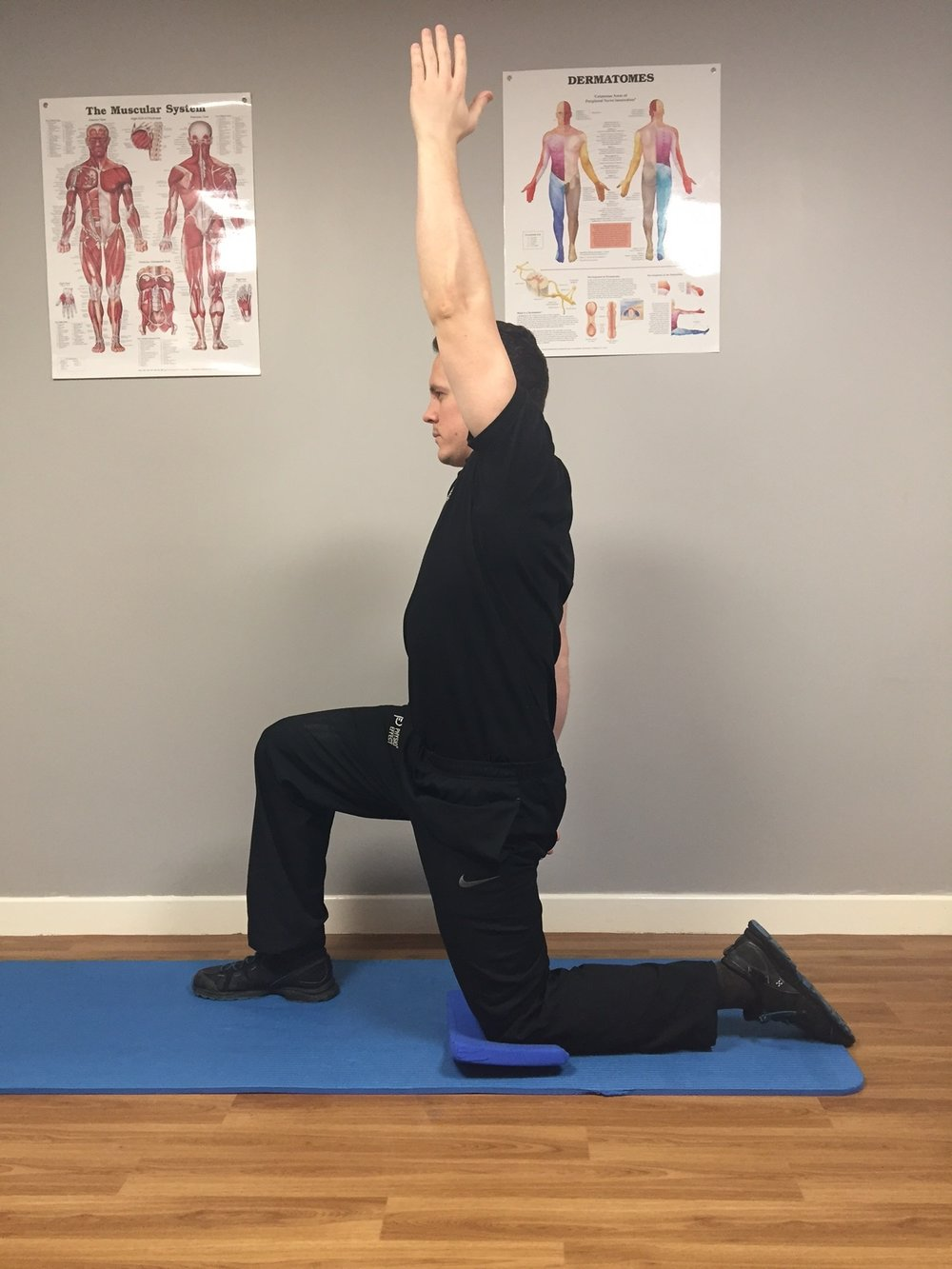 Hip Flexor Stretch Finish Position