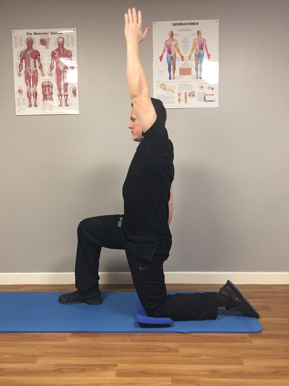 Hip Flexor Stretch Finish Position