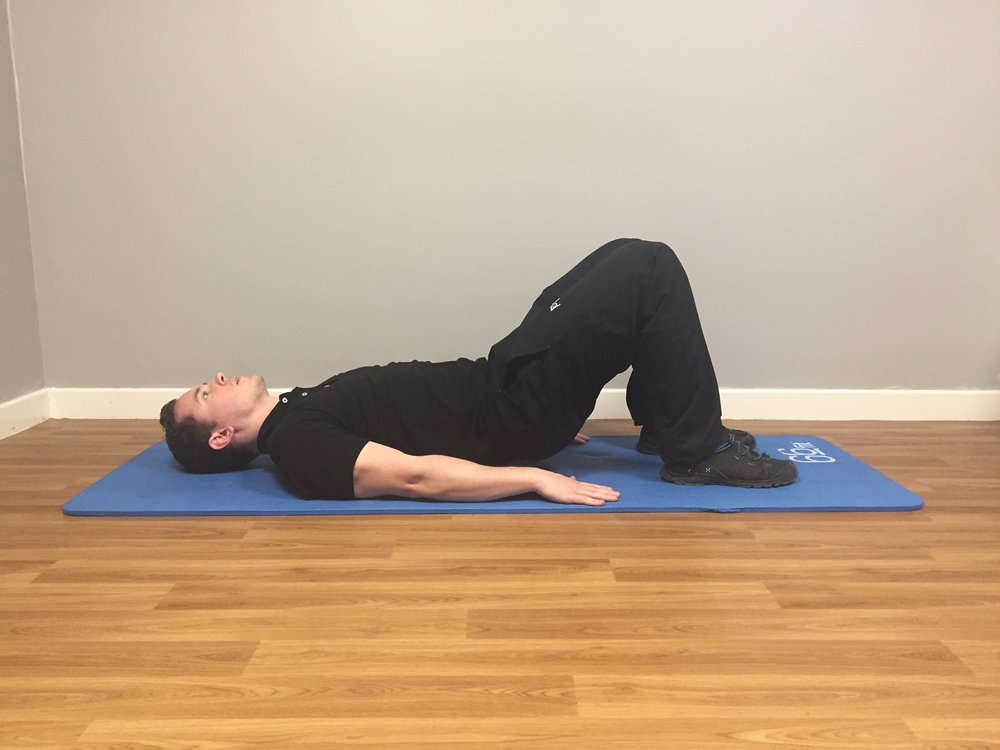 Shoulder Bridge Start Position