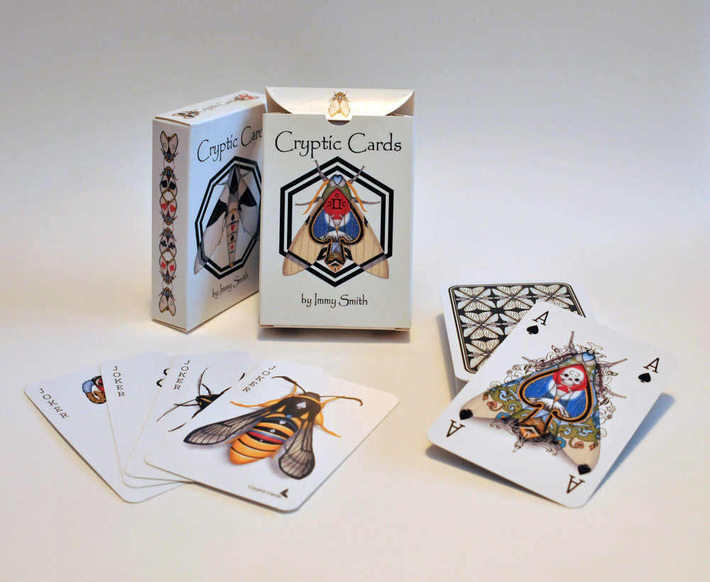 An image of the Cryptic Cards deck