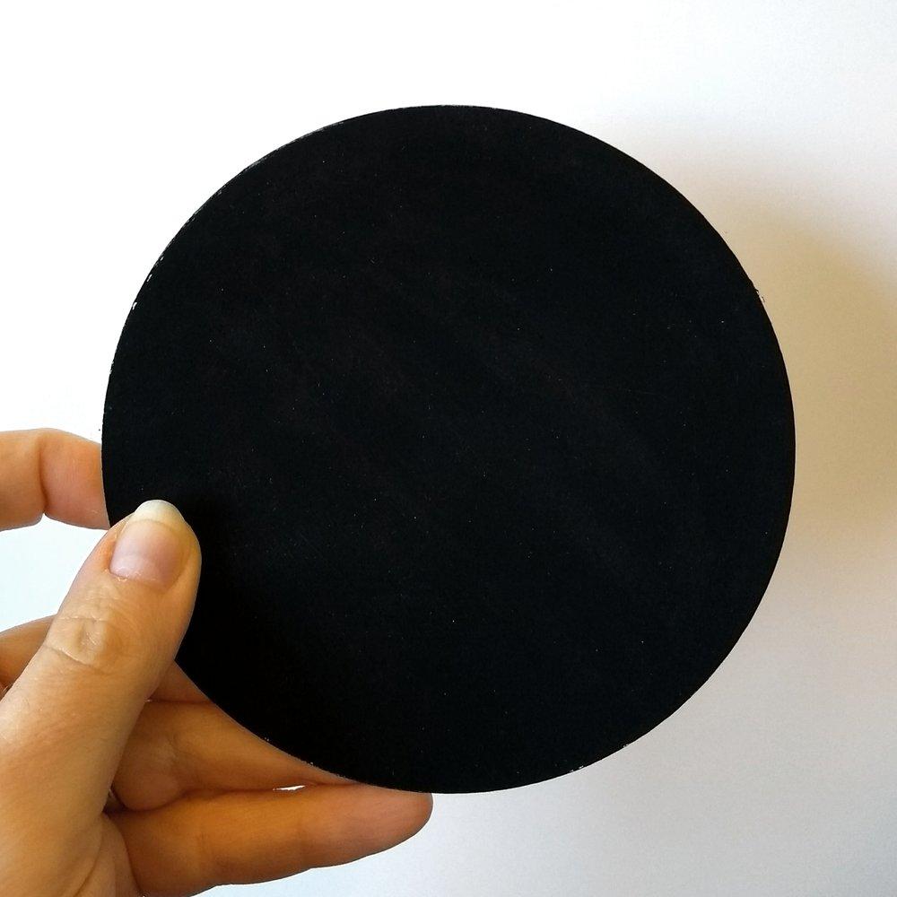 Painted circle