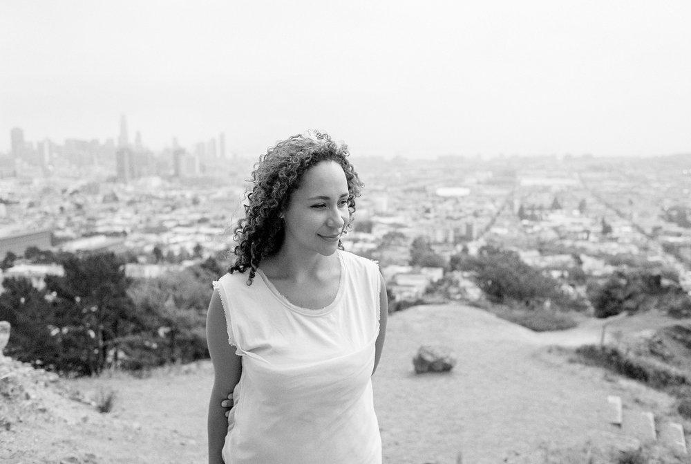 Portrait of me by film photographer Tatiana Johnson