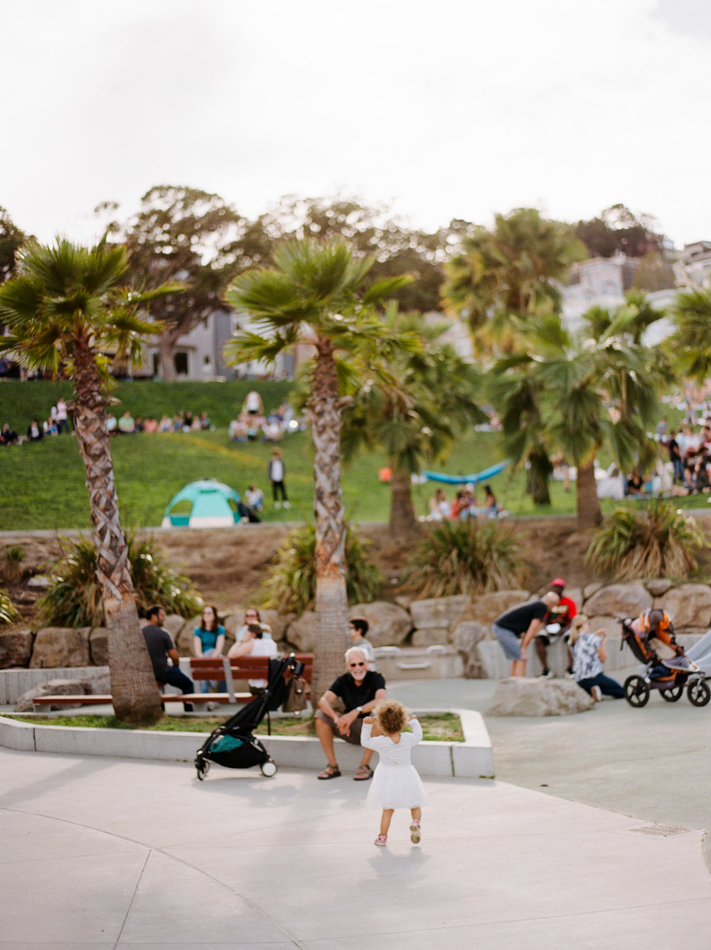 Mission Dolores park film family photography by Rachel Sima Photography
