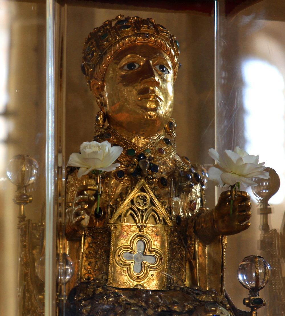 SYDNEY 7. Reliquaire de Sainte Foy de Conques.jpg