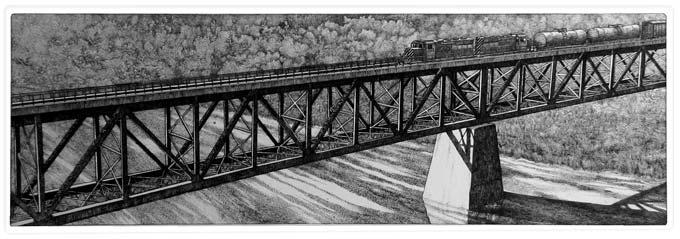 Mud Lake Bridge (2010)