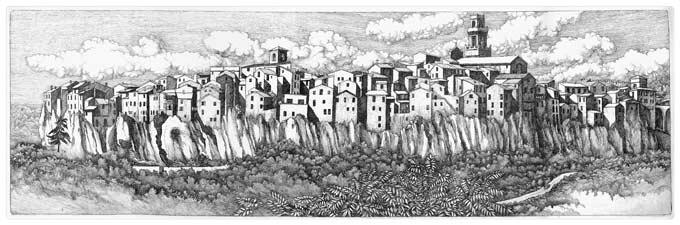 Pitigliano, Tuscany (2012)
