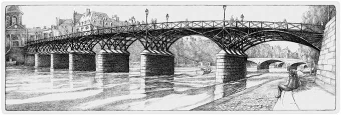 Pont des Arts, Paris (2001)