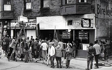 Set in Hough, the film  Uptight  was a premonition for the shootout in Glenville a month later