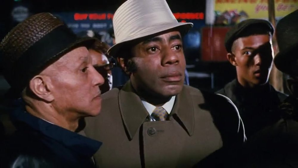 "Uptight  film, Roscoe Lee Browne. Filmed in Hough in June 1968, many of the extras were Cleveland citizens, including Fred ""Ahmed"" Evans"
