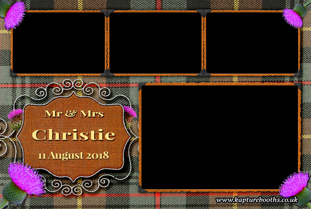 Tartan & Thistle Wedding