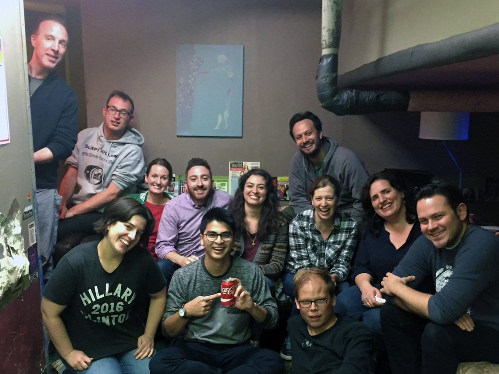 Monologists: Dan Gurewitch, Melissa Villasenor