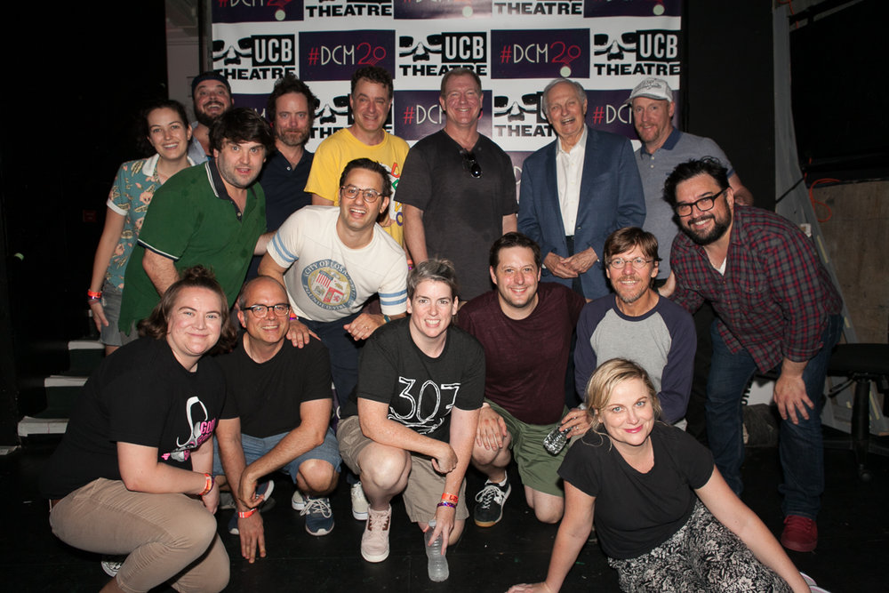 Del Close Marathon 2018 - monologist Alan Alda