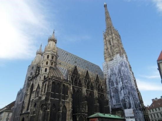 St. Stephen's Cathedral - The mother church of the Roman Catholic Archdiocese of Vienna, located at the crucial area of Vienna Old Town. It represents the spiritual norm of Vienna across several century.