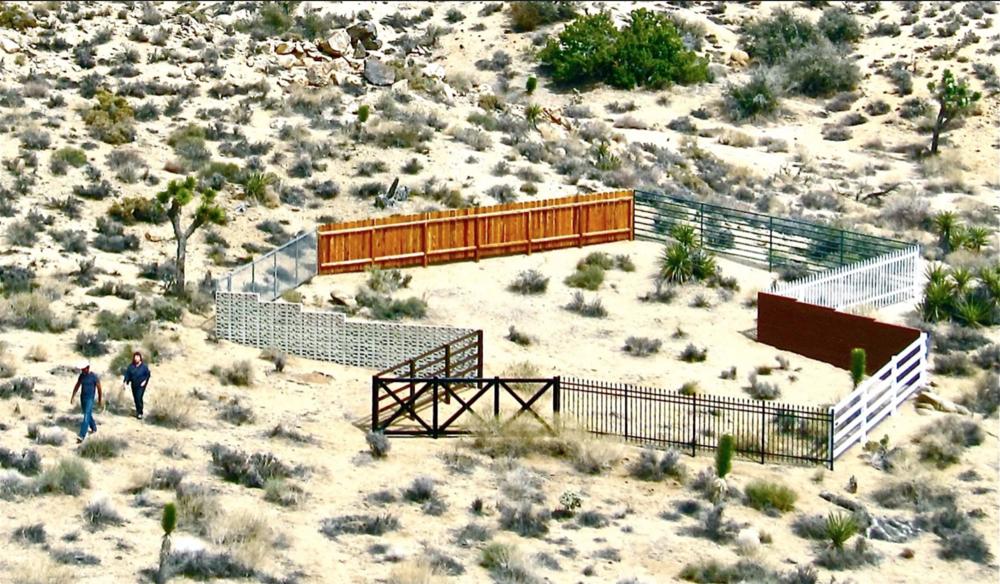 Composite Fence, 2011
